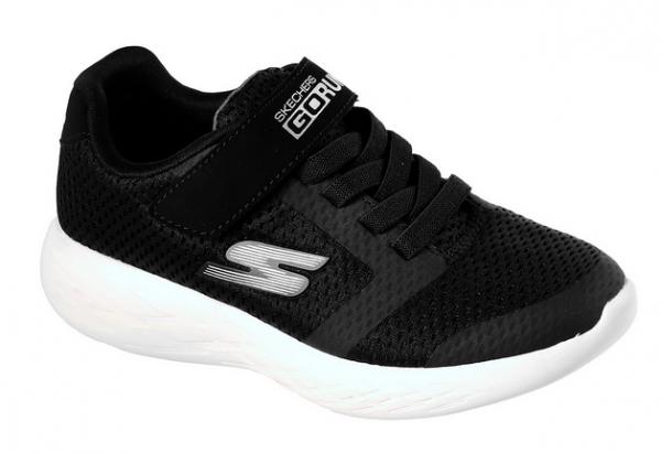 Skechers GORun 600 - Roxlo Kinder Sneaker (Schwarz-BLK)