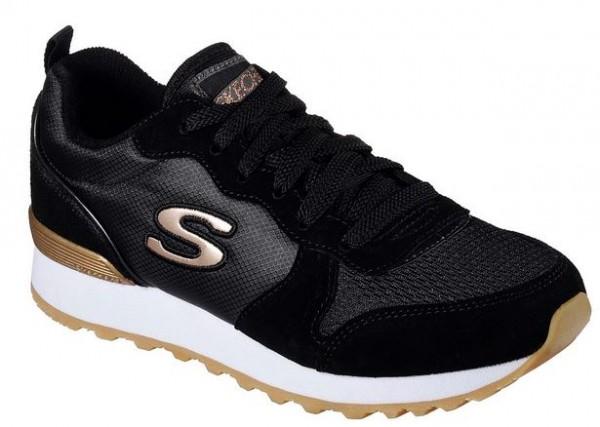 Skechers OG 85 Goldn Gurl Damen Sneaker (Schwarz-BLK)