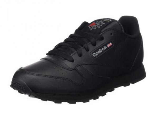 Reebok Classic Leather Kinder Sneaker (Schwarz)