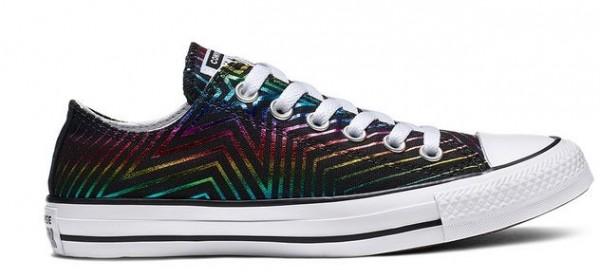 Converse Chucks Taylor All Star Exploding Star Low Damen Sneaker 565439C (Schwarz)