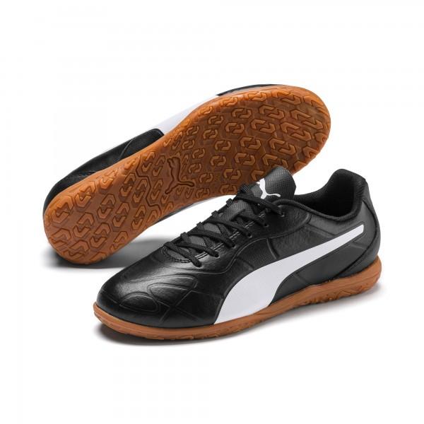 Puma Monarch IT Jr Kinder Fußballschuhe 105727 (Schwarz 01)