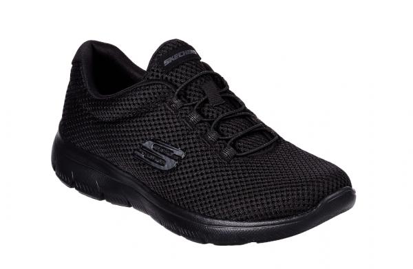 Skechers Summits - Quick Lapse Damen Sneaker 12985 (Schwarz-BBK)
