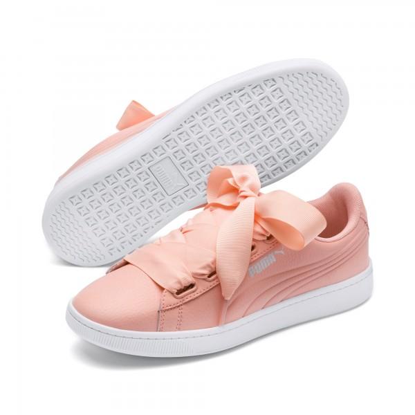 Puma Vikky v2 Ribbon Core Damen Sneaker 369114 (Peach-White 04)