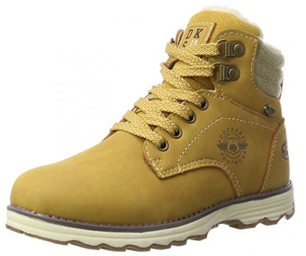 Dockers Kinder Stiefel 41TE702-630910 (Golden tan)