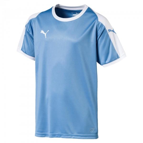 Puma LIGA Jersey JR Kinder T-Shirt 703418 (Blau 18)