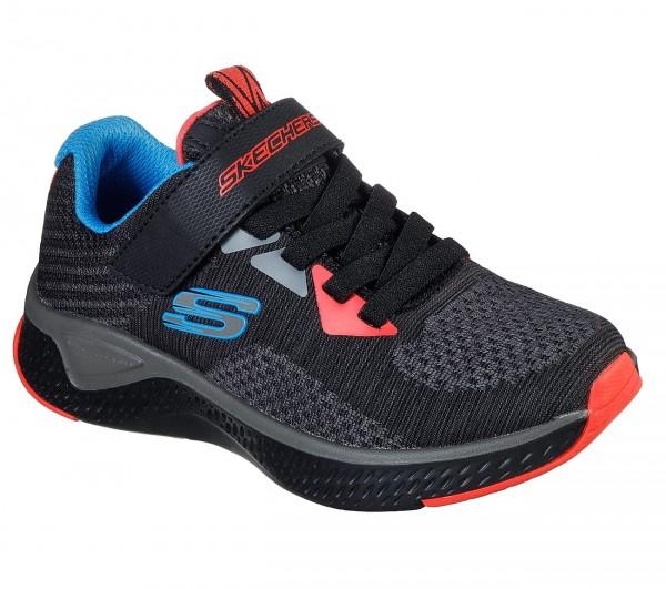 Skechers Solar Fuse - Speed Blitz Kinder Sneaker 400021L (Schwarz-CCBK)