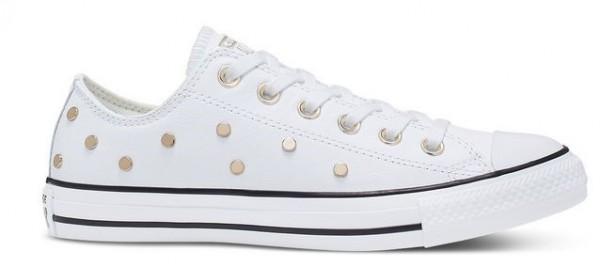 Converse Chucks Taylor All Star Studs Low Damen Sneaker 565850C (Weiß)