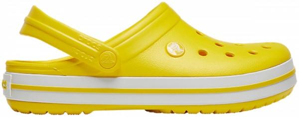 Crocs Crocband Clogs (Lemon/White)