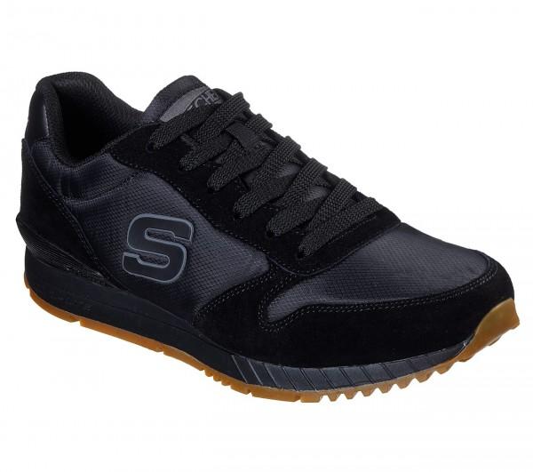 Skechers Sunlite – Waltan Herren Sneaker 52384 (Schwarz-BBK)