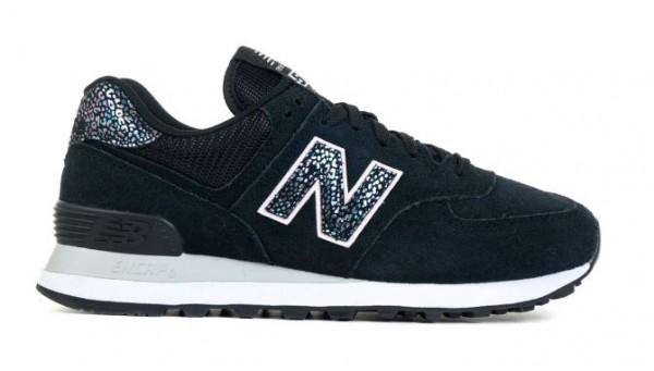 New Balance Damen Sneaker WL574AN2 (Schwarz)
