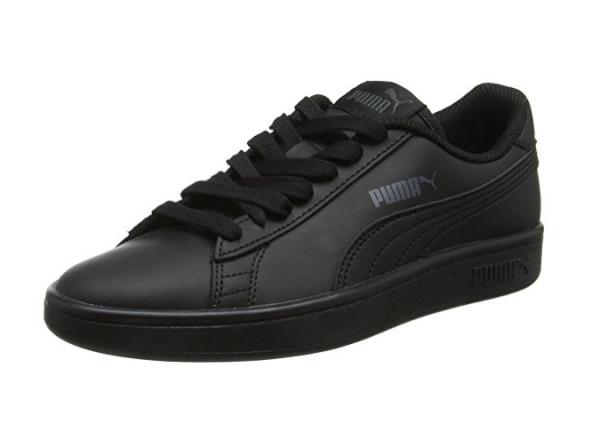 Puma Smash V2 L Jr Kinder Sneaker 365170 (black 01)