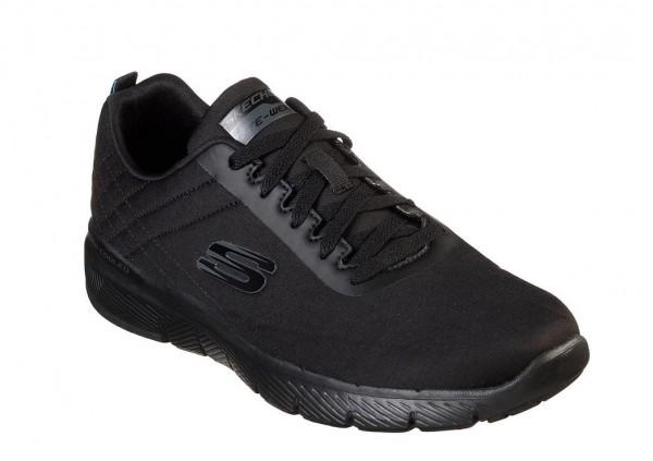 Skechers Flex Advantage 3.0 - Jection Herren Sneaker 52956 (Schwarz-BBK)