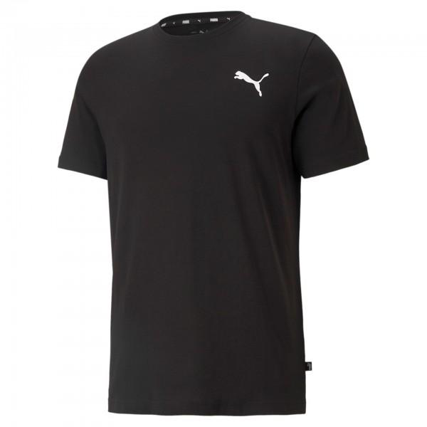 Puma ESS Small Logo Tee Herren T-Shirt 586668 (Schwarz 51)