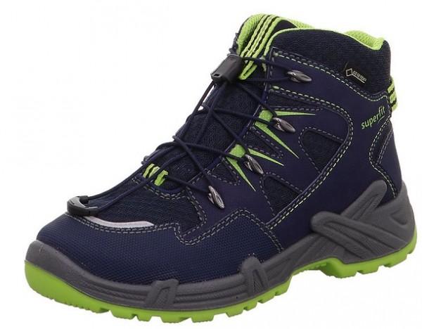 Superfit Canyon Jungen Winterboots 5-09402 (Blau/Grün 80)