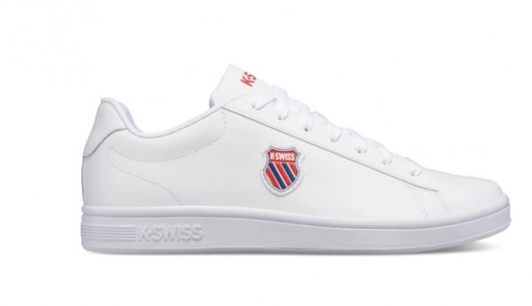 K-Swiss Court Shield Herren Sneaker 06599 (Weiß 113)
