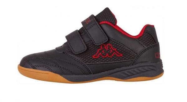 Kappa KICKOFF OC Kinder Sneaker 260695K (Schwarz 1120)