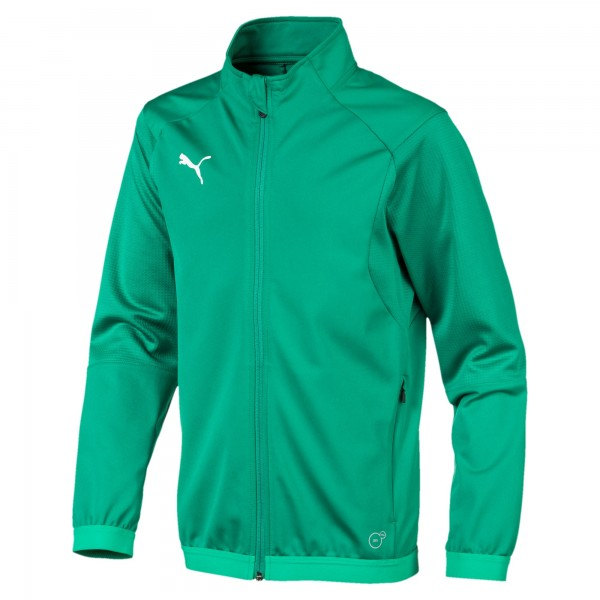 Puma LIGA Training Jr Kinder Trainingsjacke 655688 (Grün 05)