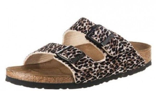 best loved 7a31a 3518d Birkenstock Arizona Tex Leo Lilly Damen Sandale schmal 1015638(Braun)