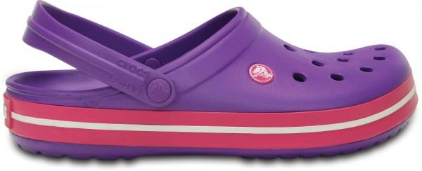 Crocs Crocband Clog (Neon Purple/Candy Pink)