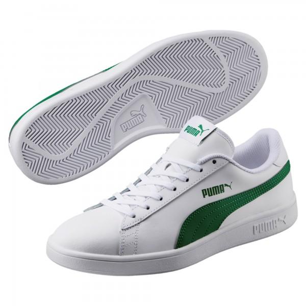 Puma Smash v2 L Herren Sneaker 365215 (Weiss 03)