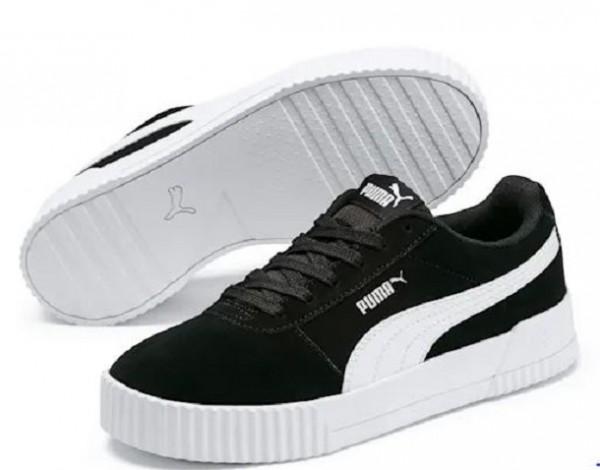 Puma Carina Damen Sneaker 369864 (Schwarz 01)