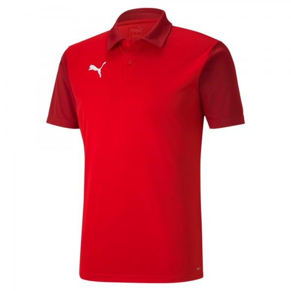 Puma TeamGOAL 23 Sideline Herren Poloshirt 656577 (Rot 01)