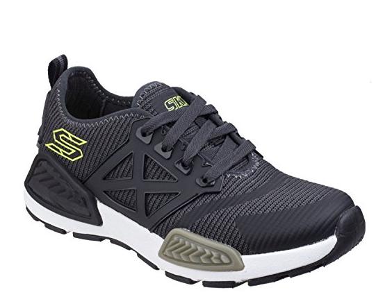 Skechers Kinectors - Nanovolt Kinder Sneaker 97671L (Olivgrün/Schwarz-OLBK)