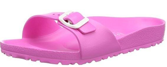 Birkenstock Madrid EVA schmal Damenpantolette 128303 (Neon Pink)