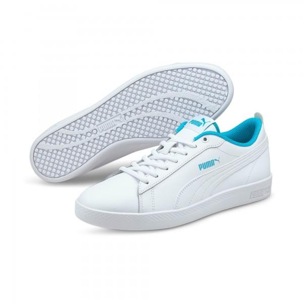 Puma Smash Wns V2 L Damen Sneaker 365208 (Weiß 27)