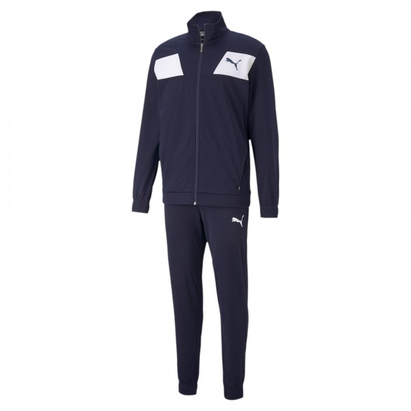 Puma Techstripe Tricot Herren Trainingsanzug 585838 (Blau 06)