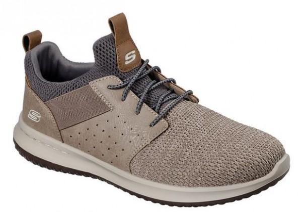 Skechers Delson-Camben Herren Sneaker (Braun-TPE)