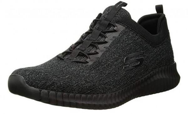 Skechers Elite Flex - Hartnell Herren Sneaker (Schwarz-BBK)
