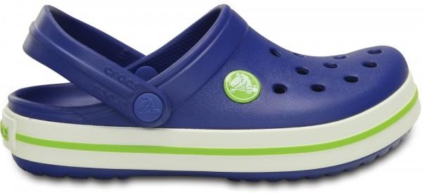 Crocs Crocband Kinder (Cerulean Blue/Volt Green)