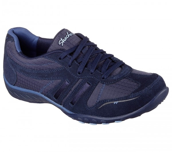 Skechers Breathe Easy Jackpot Damen Sneaker 22532 (Blau-NVY)