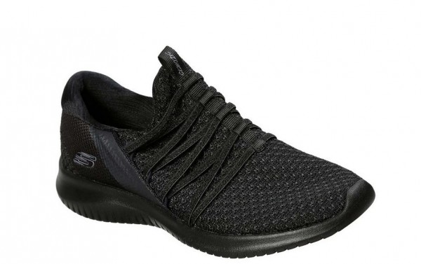 Skechers Ultra Flex Bright - Future Damen Sneaker 12849 (Schwarz-BBK)