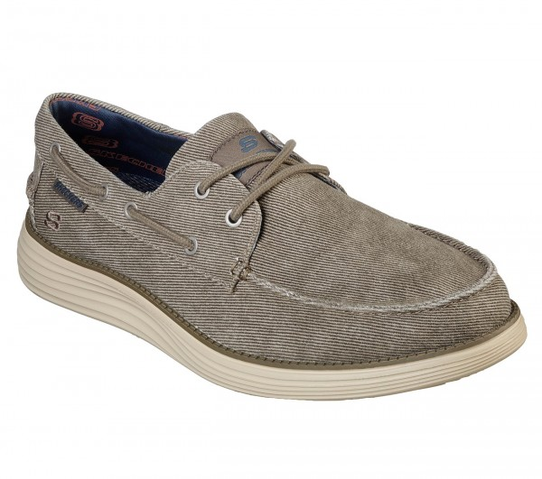 Skechers Status 2.0 - Lorano Herren Sneaker 65908 (Beige-TPE)