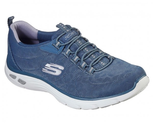 Skechers Empire D'Lux-Spotted Damen Sneaker 12825 (Blau-SLT)