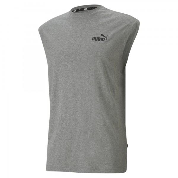 Puma ESS Sleeveless Tee Herren T-Shirt 586738 (Grau 03)