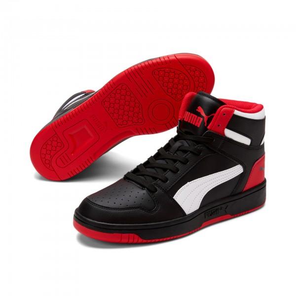 Puma Rebound LayUp SL Herren Sneaker 369573 (Schwarz 15)