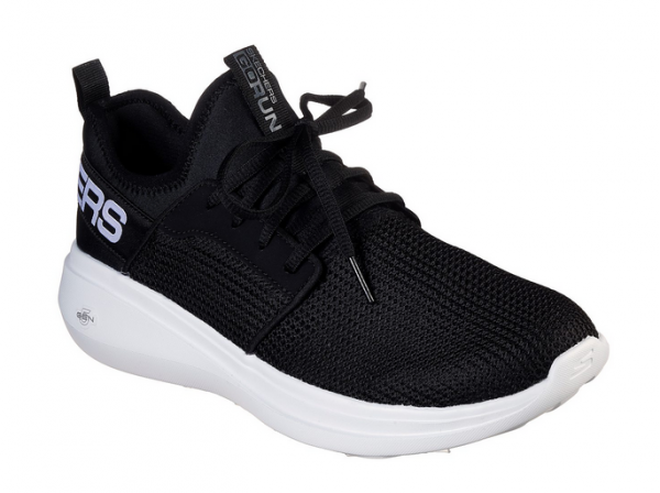 Skechers GoRun Fast - Valor Herren Sneaker 55103 (Schwarz-BKW)