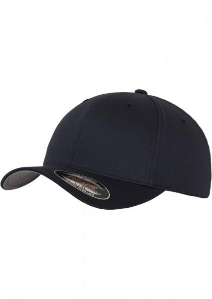 Flexfit Wooly Combed Baseball Cap (Dark Navy 00470)