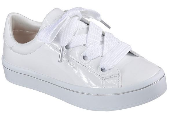 Skechers Hi-Lites - Slick Shoes Damen Sneaker 959 (Weiss-WHT)