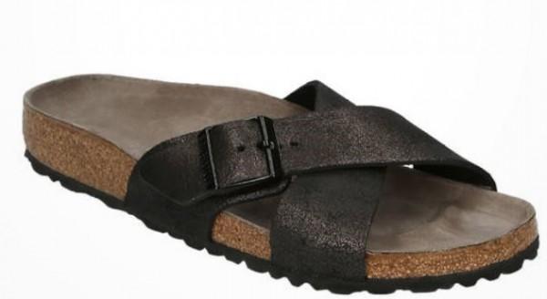 Birkenstock Siena VL Damen Sandale schmal 1014377 (Schwarz)