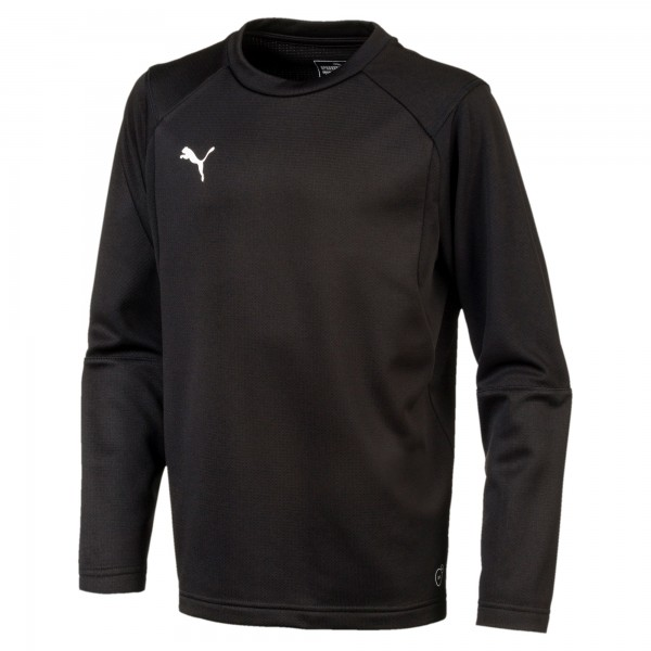 Puma LIGA Training Sweat Jr Kinder Shirt 655670 (Schwarz 03)