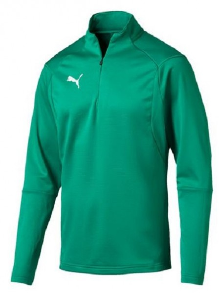 Puma LIGA Training 1/4 Zip Herren Shirt 655606 (Grün 05)