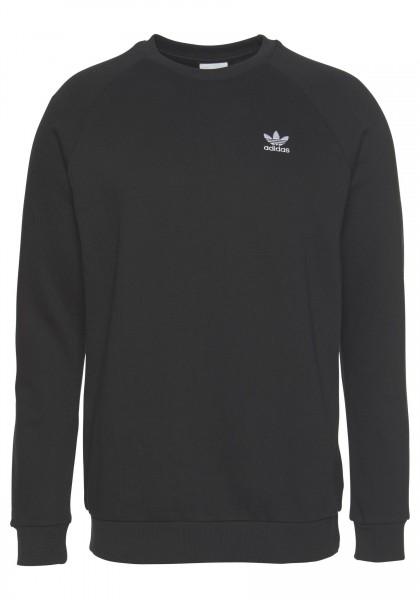 Adidas Essential Crew Herren Sweatshirt DV1600 (Schwarz)