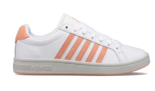 K-Swiss Court Tiebreak Damen Sneaker 97011 (Weiß 171)