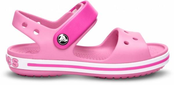 Crocs Crocband Sandal Kinder Sandale (Pink Lemonade/Neon Magenta)
