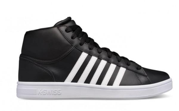 K-Swiss Court Winston Mid Herren Sneaker 06797 (Schwarz 011)