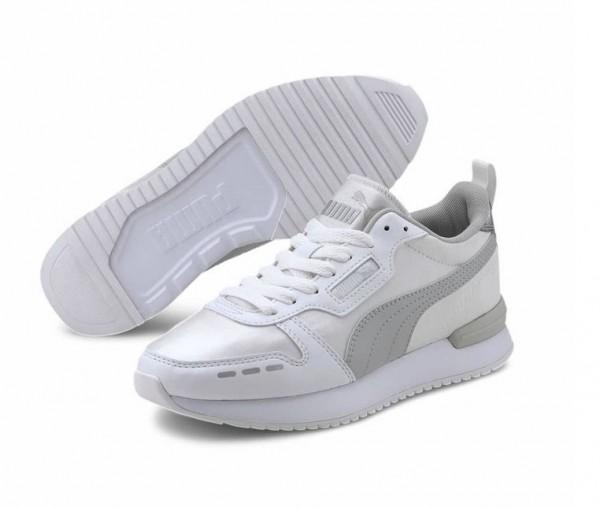 Puma R78 Metallic Damen Sneaker 374739 (Weiß 02)